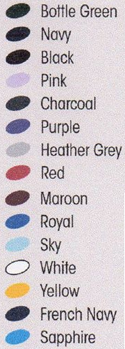 sweatshirt colours