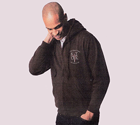 mens classic full-zip hooded sweatshirt